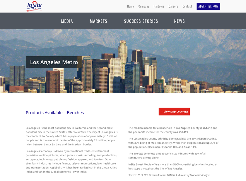Martin Outdoor Media LLC homepage screenshot