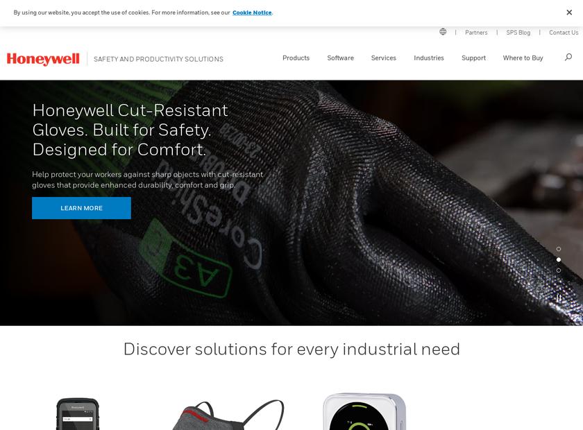 Intelligrated Inc homepage screenshot