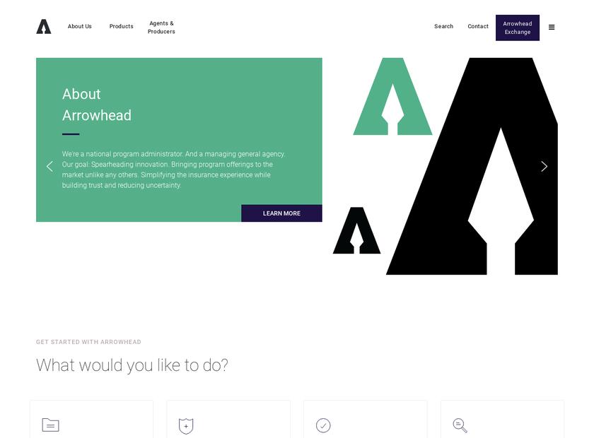 ARROWHEAD General Insurance Agency Inc homepage screenshot
