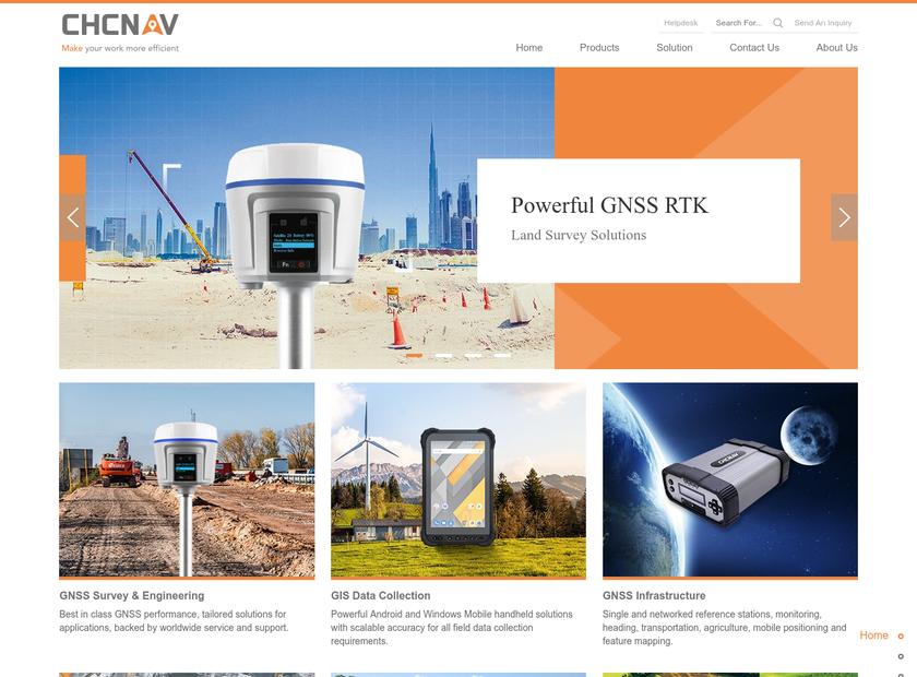 CHC Technology Co. Ltd homepage screenshot