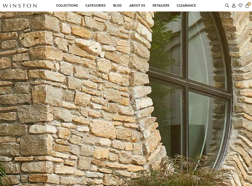 Winston Furniture Company homepage screenshot