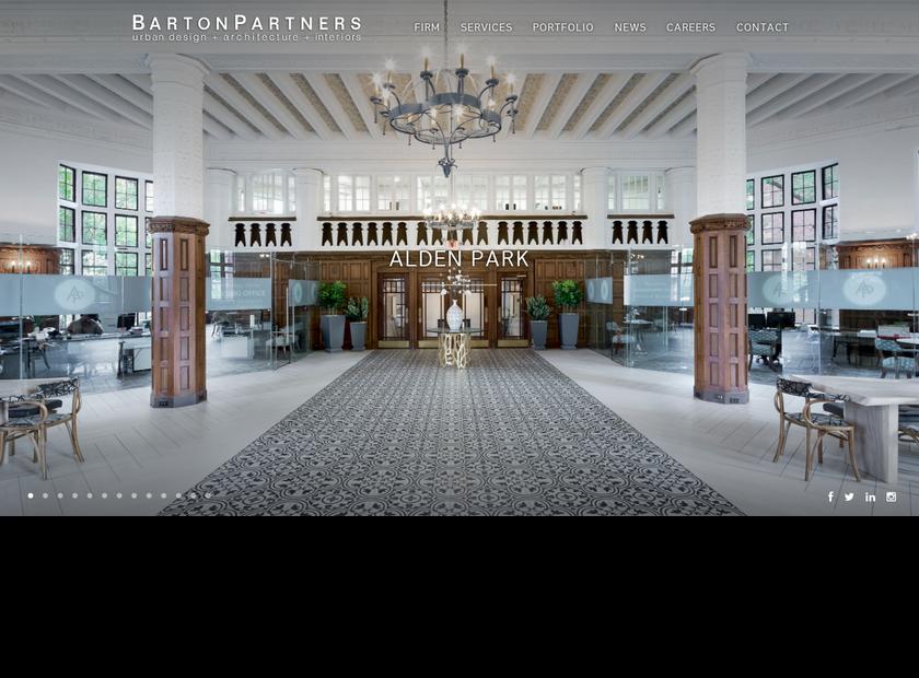BartonPartners Inc homepage screenshot
