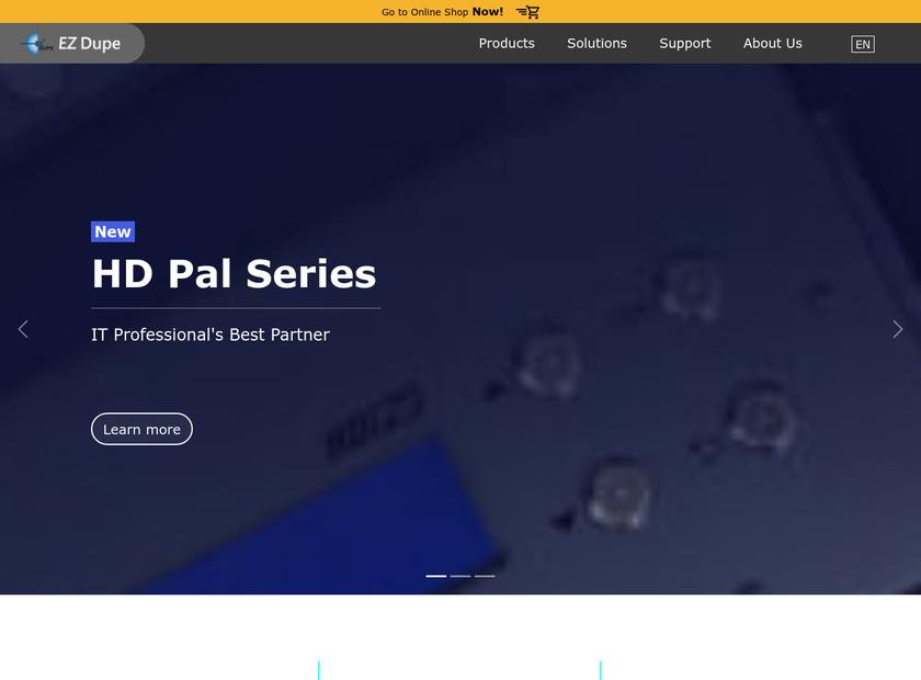 EZ Dupe Inc homepage screenshot