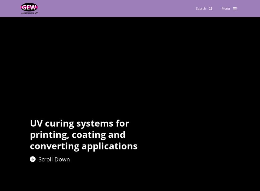 GEW Limited homepage screenshot