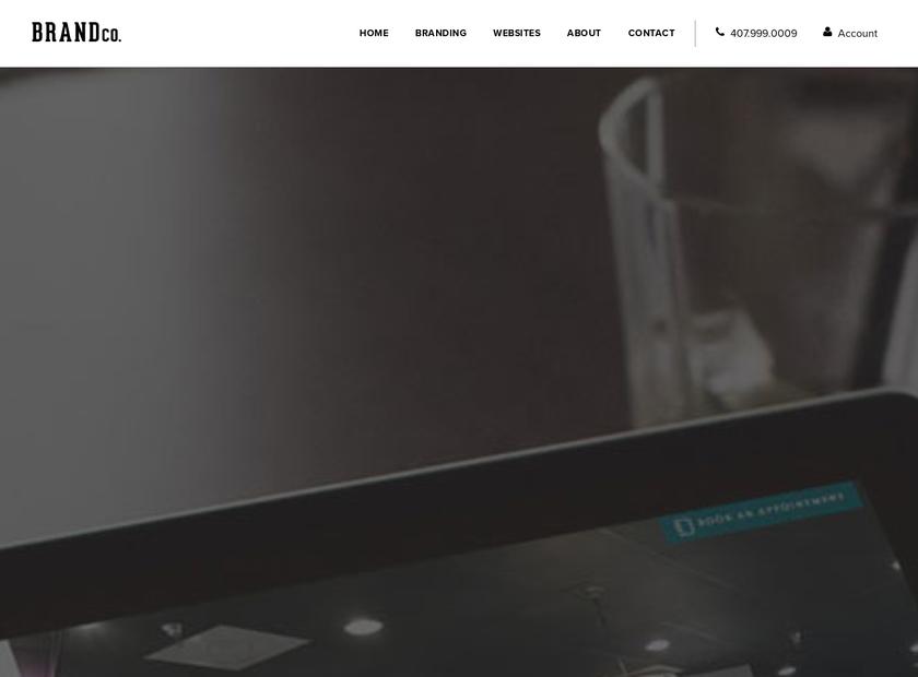 BrandCo LLC homepage screenshot