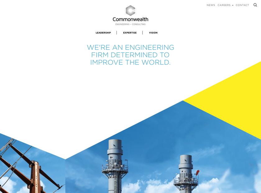 Commonwealth Associates Inc homepage screenshot