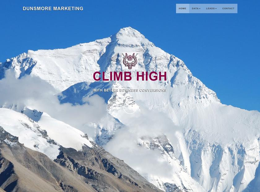 Dunsmore Marketing Limited homepage screenshot