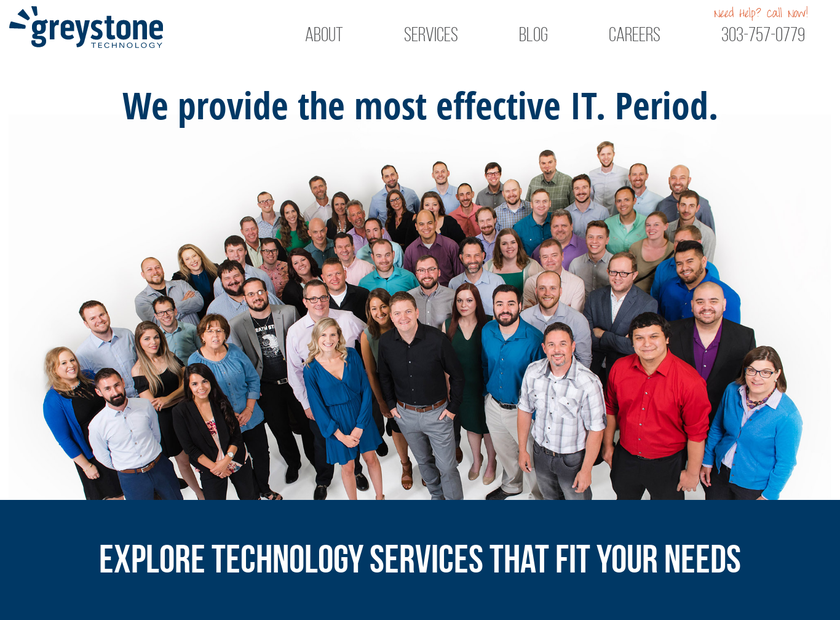 Greystone Technology Group Inc homepage screenshot