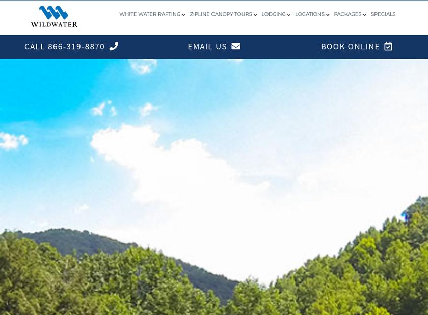 Wildwater Ltd. homepage screenshot