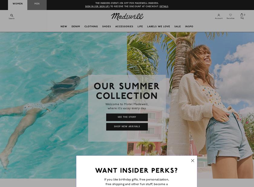 MADEWELL LLC homepage screenshot