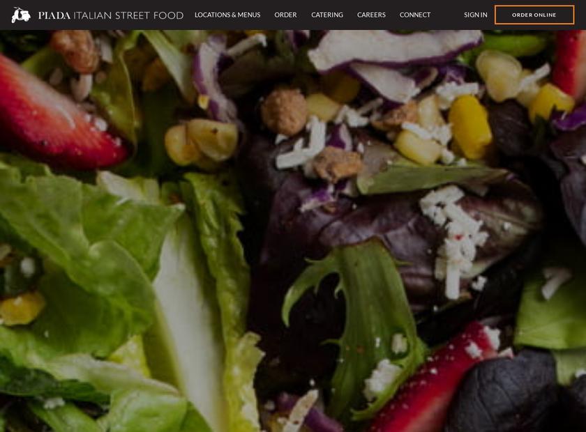 The Piada Group LLC homepage screenshot