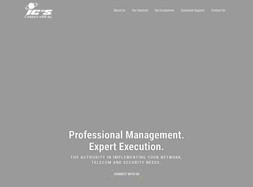 IC2S Inc homepage screenshot