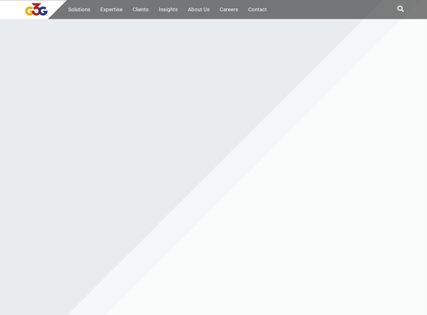 G3G Inc homepage screenshot
