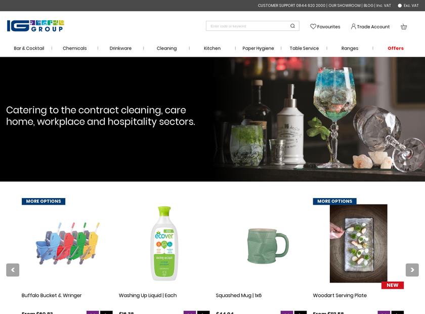 Innerglass Ltd homepage screenshot