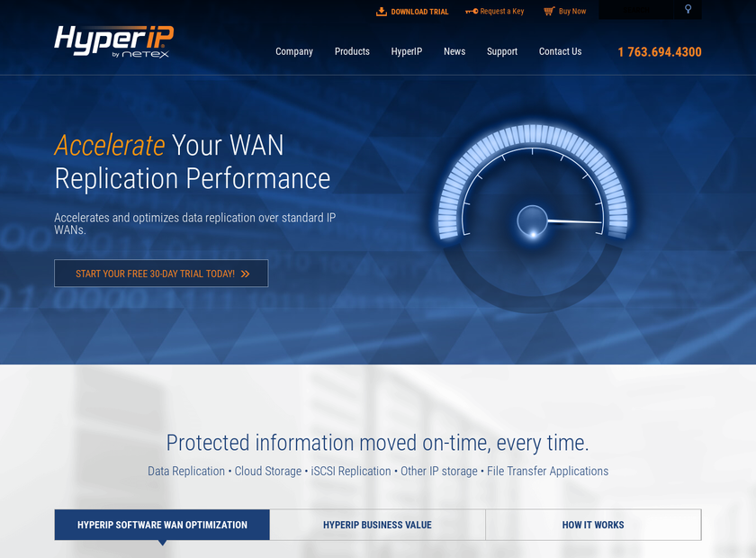 NetEx homepage screenshot