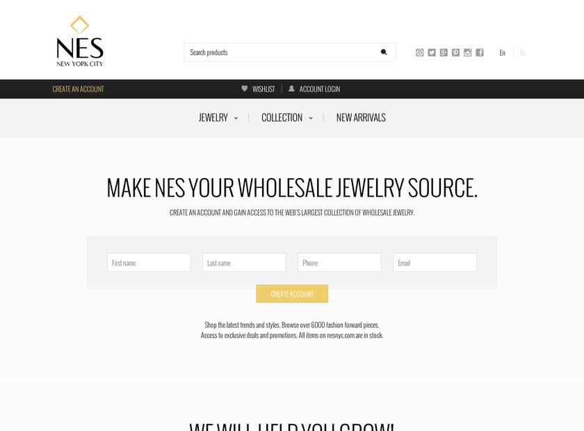 NESNYC.COM homepage screenshot