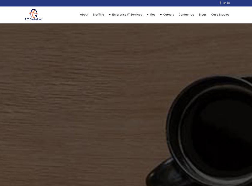 AIT Global Inc homepage screenshot
