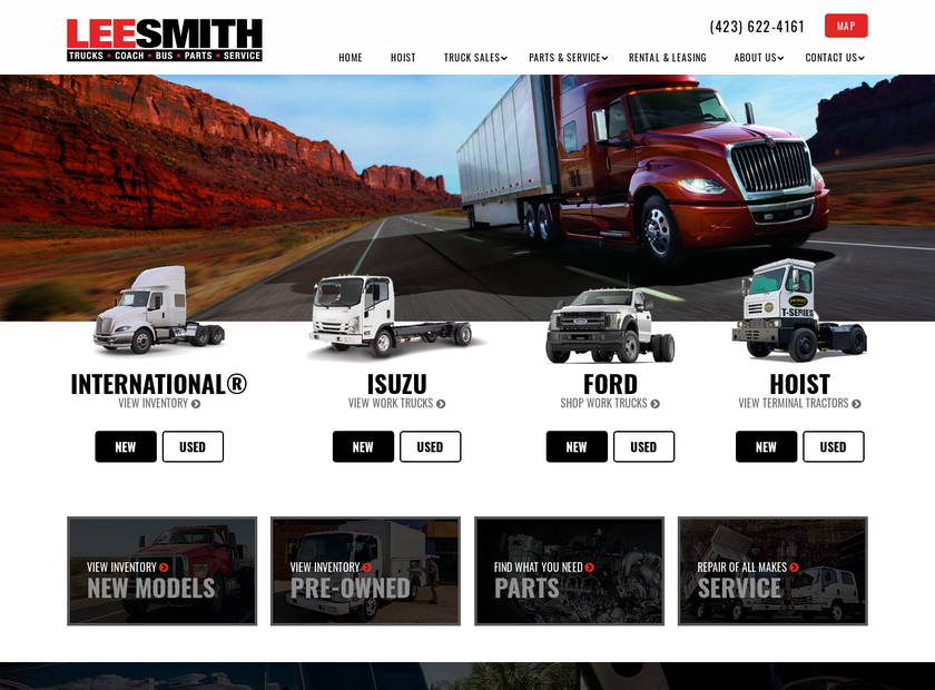 Lee-Smith Inc. homepage screenshot