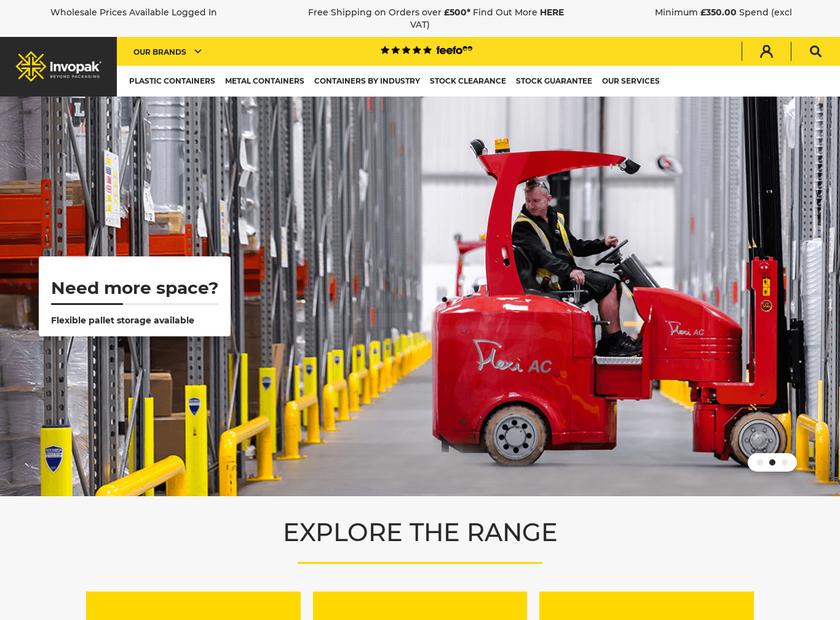 INVOPAK homepage screenshot