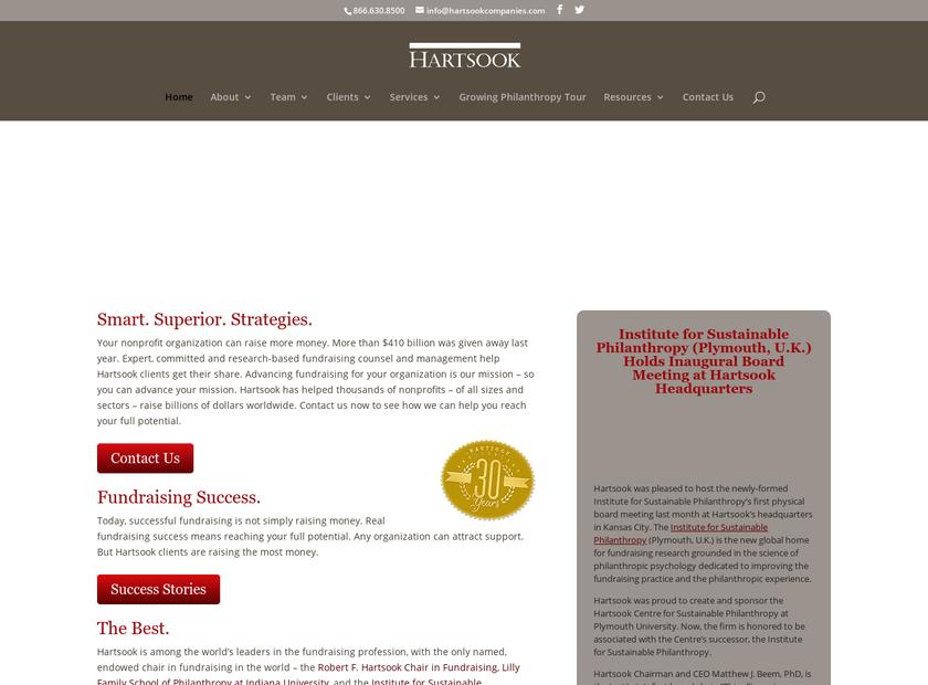 Hartsook Companies Inc homepage screenshot