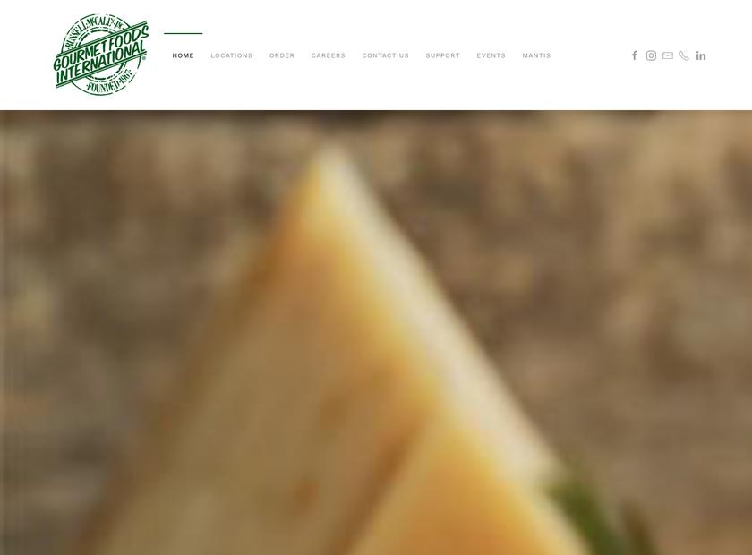 Atlanta Foods International homepage screenshot
