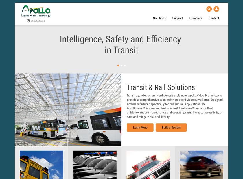 Apollo Video Technology homepage screenshot