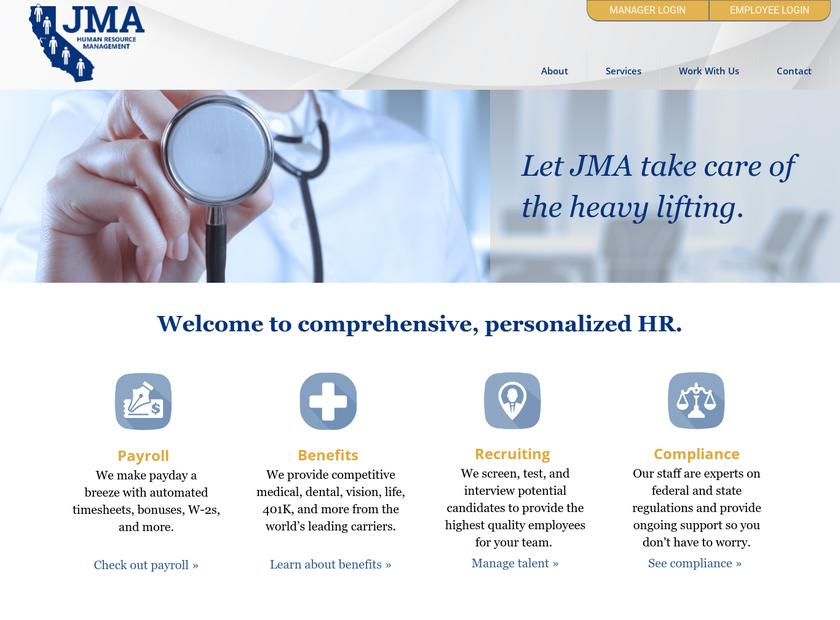 Judy Madrigal & Associates Inc homepage screenshot