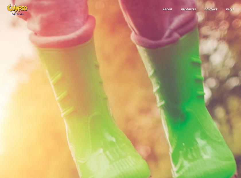 Calypso Soft Drinks Ltd homepage screenshot