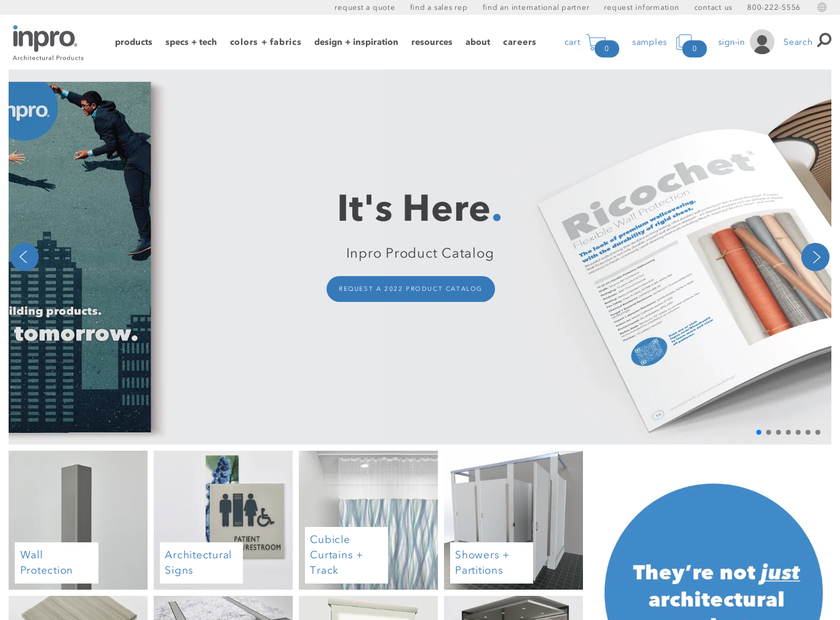 InPro Corporation homepage screenshot