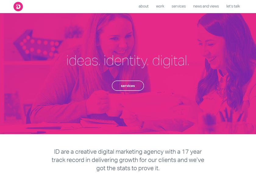 Innovation Digital Ltd homepage screenshot