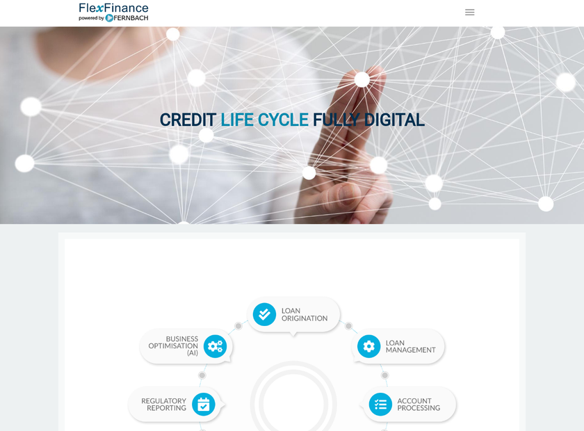 FERNBACH Software GmbH homepage screenshot