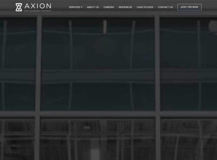 Axion RMS Ltd homepage screenshot