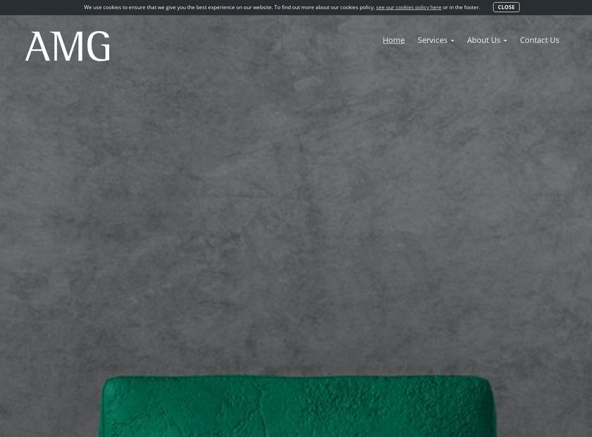 The Asset Management Group Ltd homepage screenshot