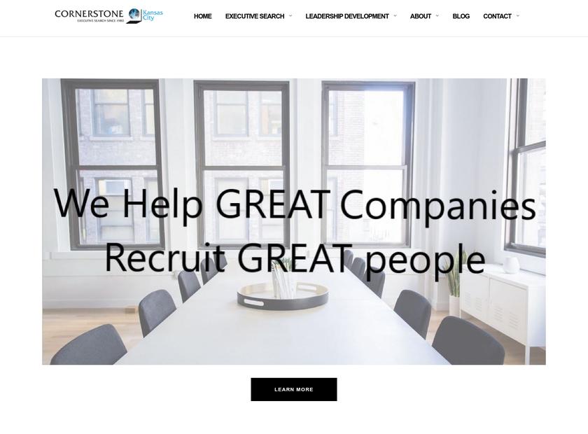 Cornerstone Kansas City , LLC homepage screenshot