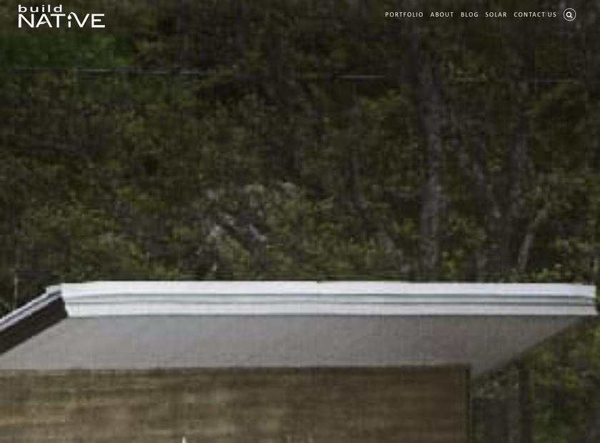 Native , Inc. homepage screenshot