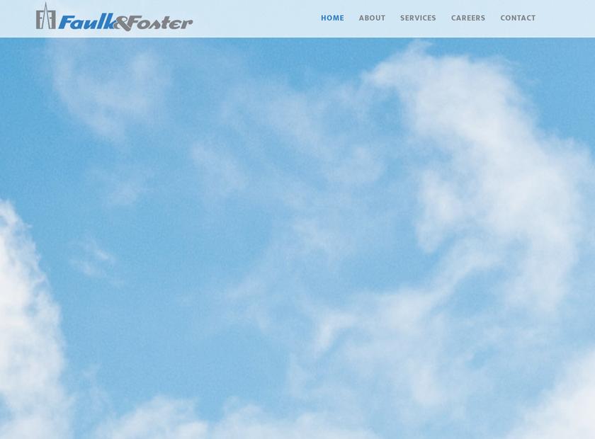 Faulk & Foster Real Estate Inc homepage screenshot