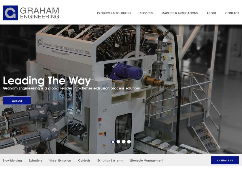Graham Engineering Corporation homepage screenshot