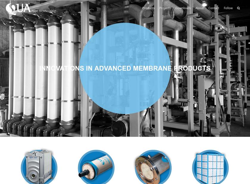 Qua Group LLC homepage screenshot