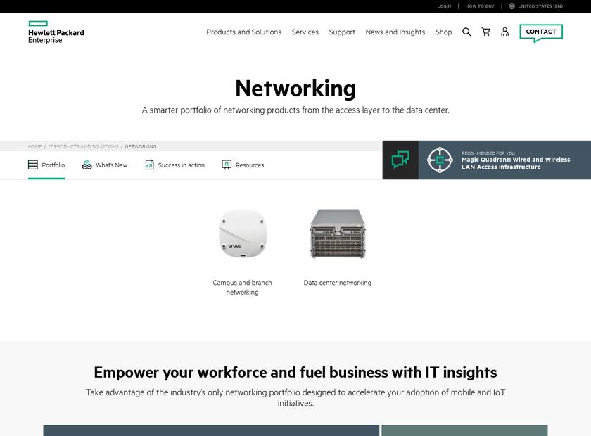 3Com Corporation homepage screenshot