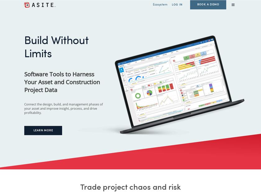 Asite Solutions Ltd homepage screenshot