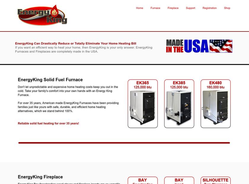 RJM Manufacturing, Inc. homepage screenshot
