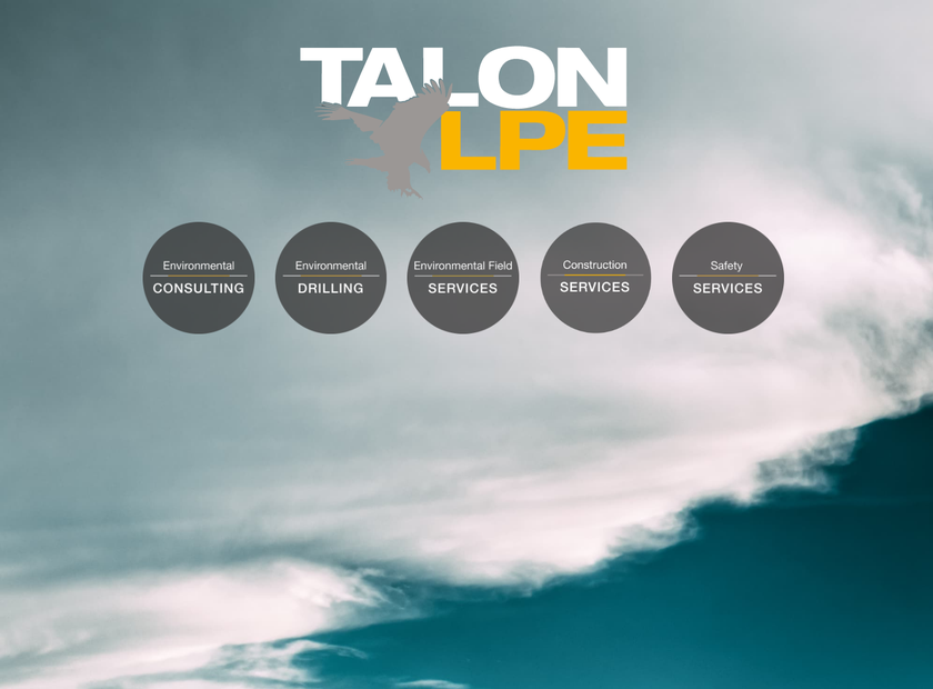 Talon/LPE LTD homepage screenshot