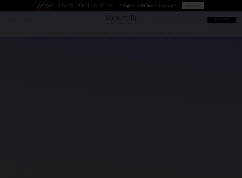 Monte Rei homepage screenshot