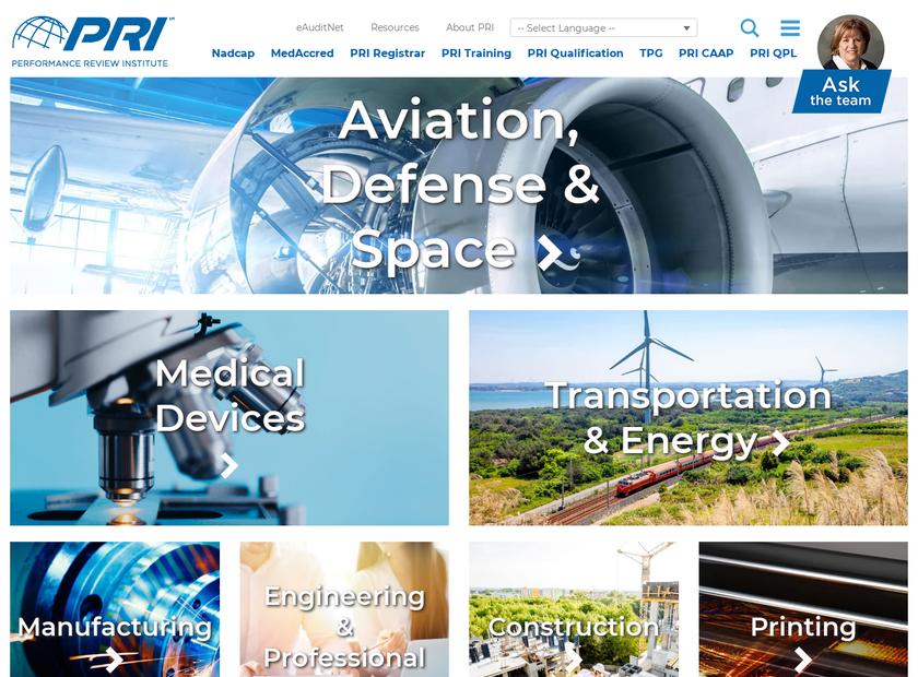 MedAccred homepage screenshot