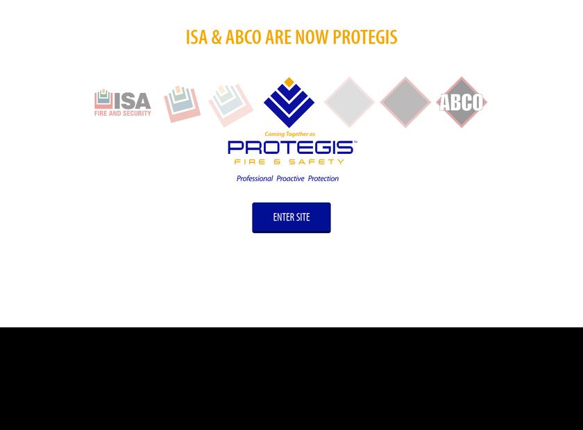 International Systems of America, LLC homepage screenshot