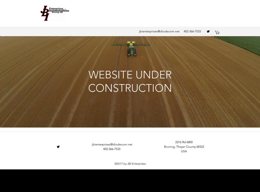 JBI Enterprises LLC homepage screenshot