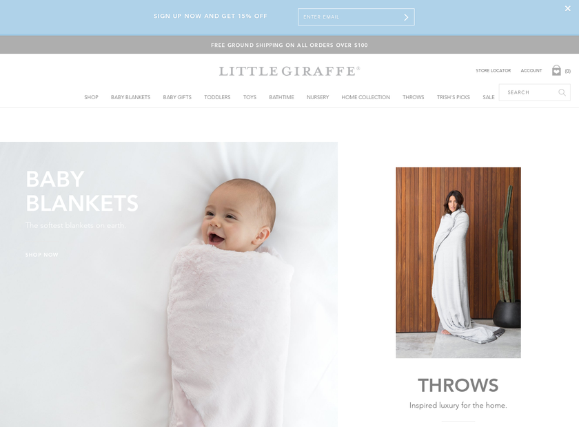 Little Giraffe , Inc. homepage screenshot