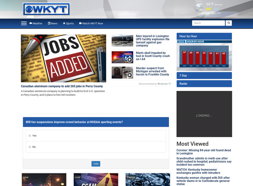 Wkyt Weather Map.Wkyt Company Profile Office Locations Competitors Financials