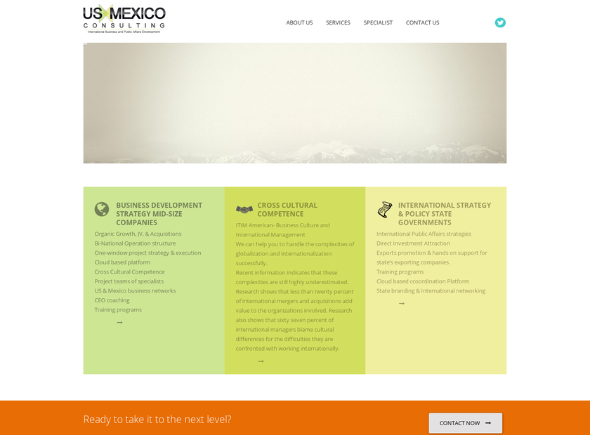 US Mexico Consulting company profile - Office locations, Competitors