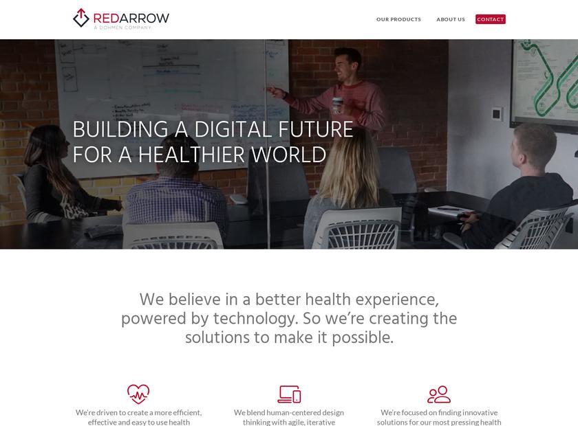 Red Arrow Labs LLC homepage screenshot